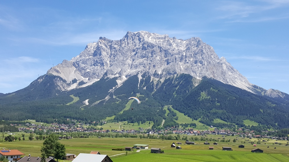 The Zugspitze Mountain