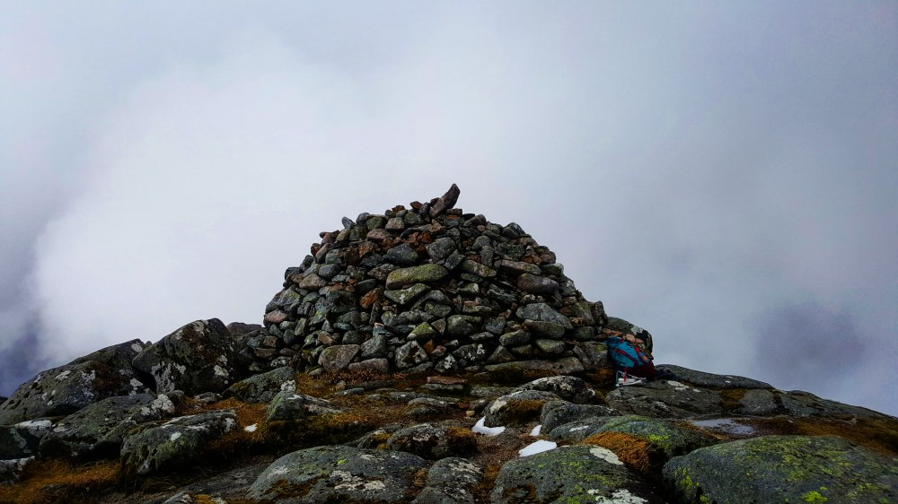 Summit Cairn on Beinn Sgulaird